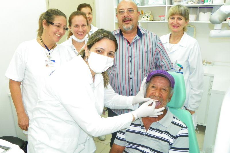 Equipe de saúde bucal inauguram mais um consultório dentário dentro da Unidade de Saúde.