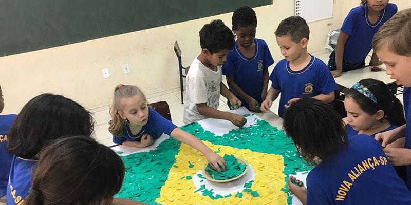 Semana da Pátria é comemorado nas Escolas